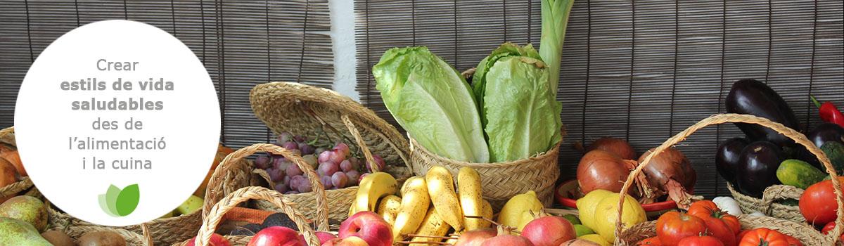 Crear estils de vida saludables des de l'alimentació i la cuina