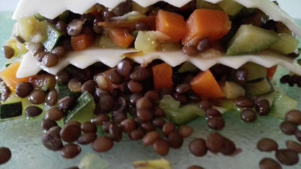 lassanya de llenties i verdures